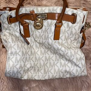 Large Micheal Kors leather and logo